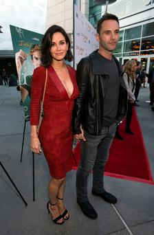 Cougar town: Courteney Cox (51) and Johnny McDaid (39).