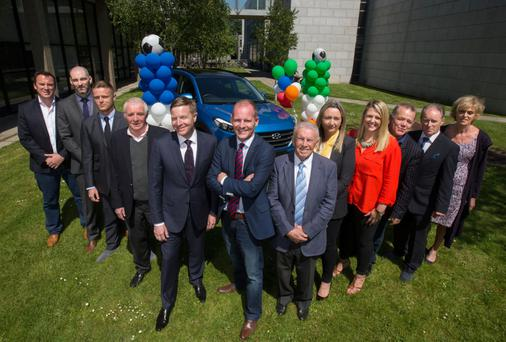Score: RTÉ 'heads' out in force at the French Ambassador's luxury pad on Ailesbury Road.