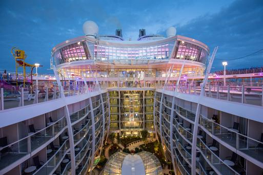 Royal Carribean International's Harmony of the Seas, is the world's largest and newest cruise ship.