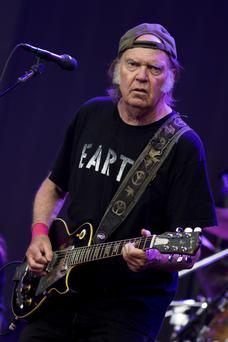 Still got it: Neil Young