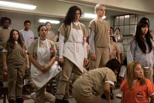 Outsiders: Season four of 'Orange is the New Black' premieres on Netflix tomorrow.