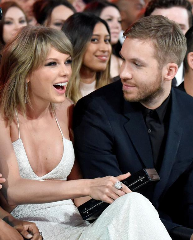 Taylor and ex-boyfriend Calvin Harris. It was revealed they broke up last month