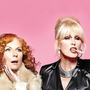 Sweetie darlings: Jennifer Saunders and Joanna Lumley return as Eddy and Patsy in 'Ab Fab: The Movie'