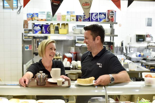 Richard Bagguley, owner of Terry's café in the city's indoor market, voted Remain while catering assistant Marie Lord opted for Leave.