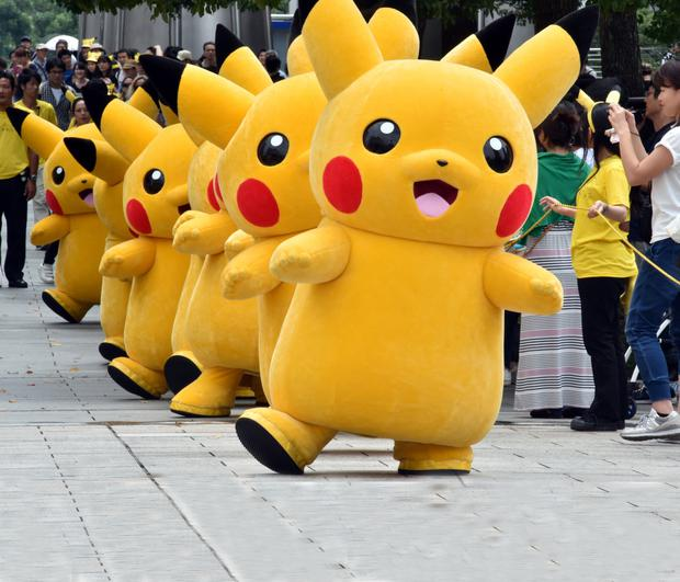 Nostalgia: Pokémon was created more than 20 years ago, with Pikachu, one of its most popular characters.