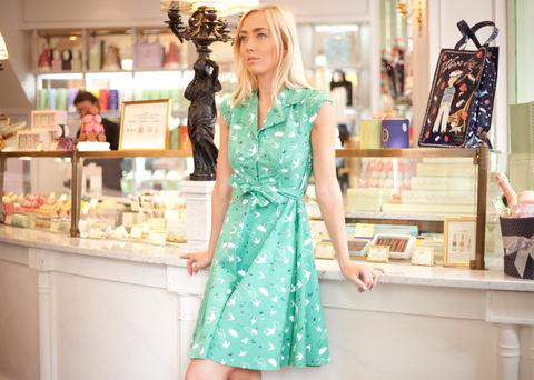 The Ava Swallow and Cloud dress at Carousel