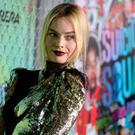 Girls on film: Margot Robbie above, attends the premiere of 'Suicide Squad' this week