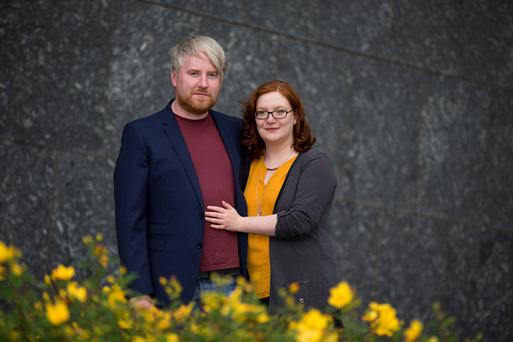 Dave Marron and Molly McMahon are running the Carrickmacross Arts Festival together. Photo: Mark Condren