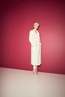 Hat €20, coat €147, jeans €55, shoes €65. Available in store and from eu.riverisland.com