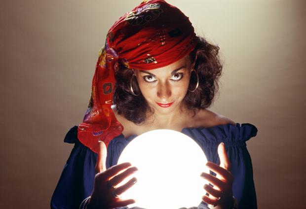 Mediums and fortune tellers who are the go-to sources of wisdom