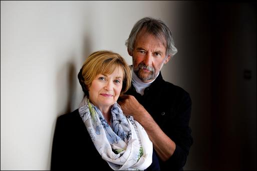 Colm Keane and Una O'Hagan have written a book called Animal Crackers: Irish Pet Stories. Photo: David Conachy