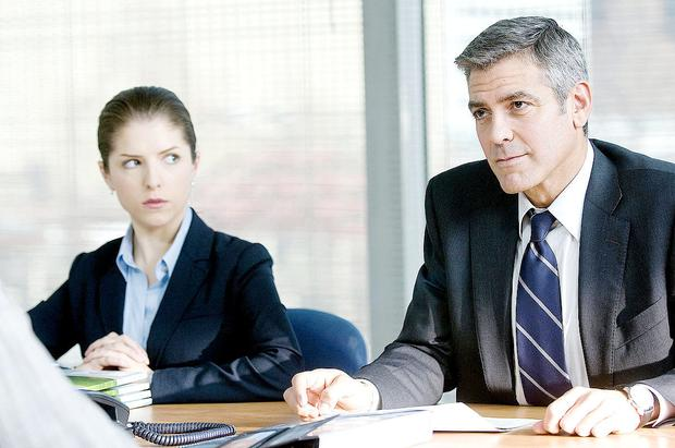 Anna Kendrick with George Clooney in Up in the Air, for which she was nominated for an Oscar