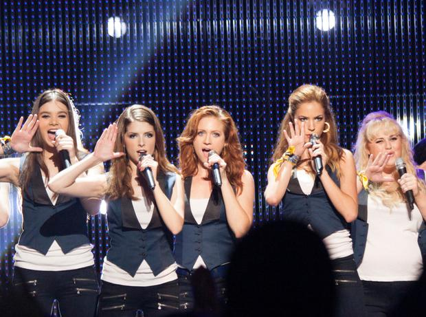Range: Anna Kendrick with her Pitch Perfect co-stars