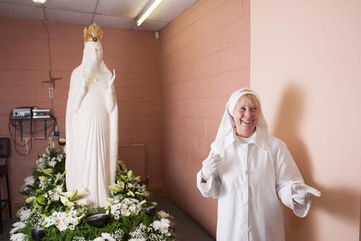 Holy show: A scene from Strange Occurrences in a Small Irish Village Photo: Michael Mc Laughlin