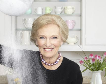 Master baker: Mary Berry returns to our screens with a new series of 'The Great British Bake Off'