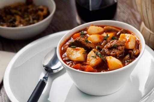 Beef and red wine stew