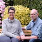 Close: John and Tracy Keogh before their cancer treatment