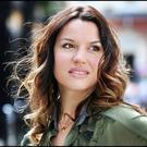 Caroline Morahan is back in Ireland from LA to talk about a new TV comedy she is starring in. Photo: Steve Humphreys