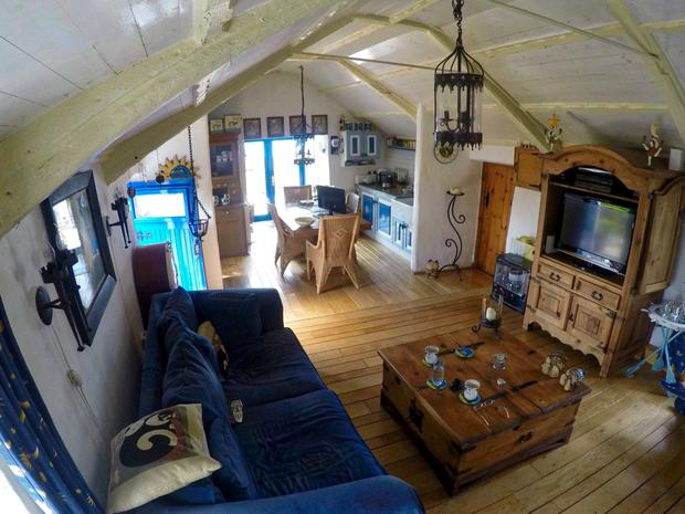 Jacob's Cottage's open plan interiors