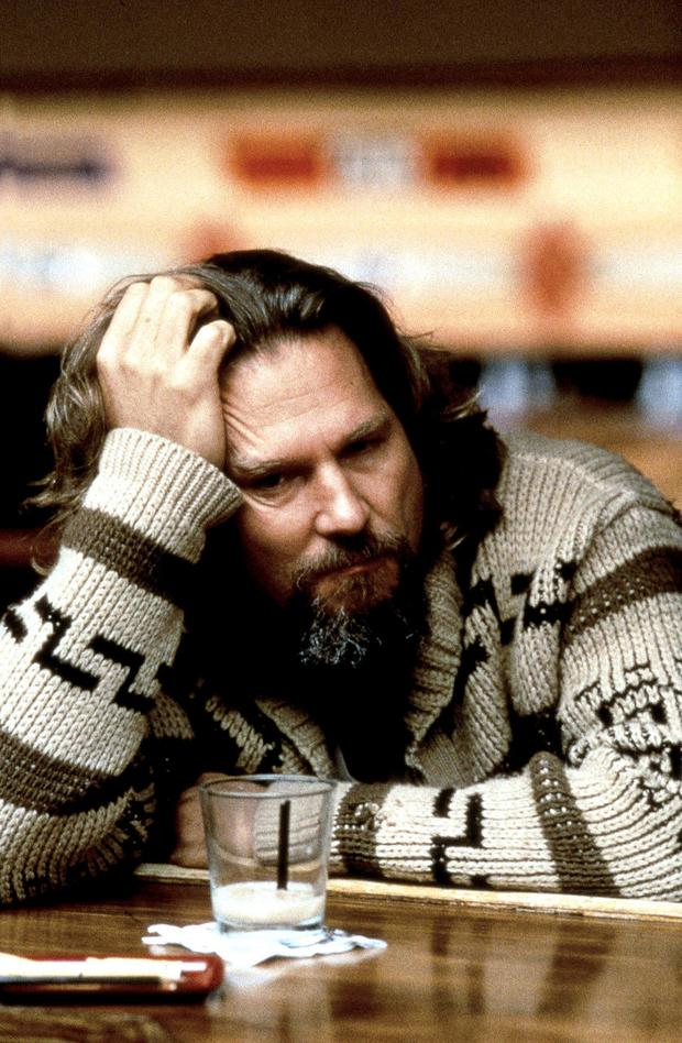 Slacker: Jeff Bridges as The Dude in 1998's 'The Big Lebowski'