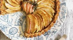 Indy Power Apple and rosemary tart