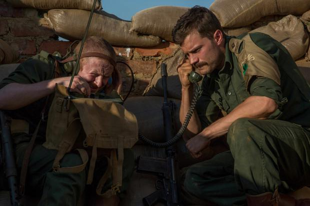 Real life: Irish actors Conor MacNeill and Jamie Dornan star in 'The Siege of Jadotville' for Netflix