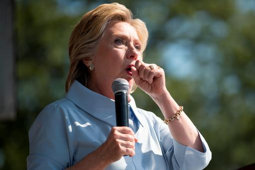 Under the weather: Clinton's doctor says she is in good health despite her pneumonia