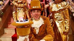 Ryan Tubridy on RTE's The Late Late Toy Show Picture: Andres Poveda