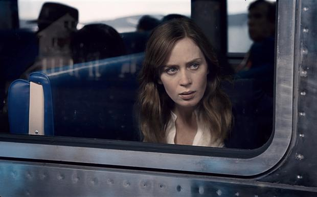 Commuting trouble: Emily Blunt in a scene from Girl On The Train