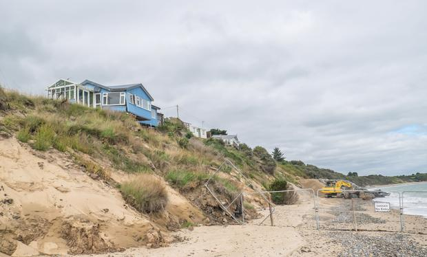 Roddy Hickson's abandoned home overlooking Donaghmore beach in Co Wexford