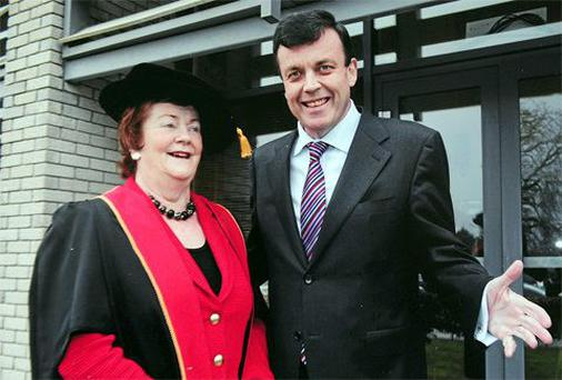 Mary O'Rourke says her late nephew, former Finance Minister Brian Lenihan junior,