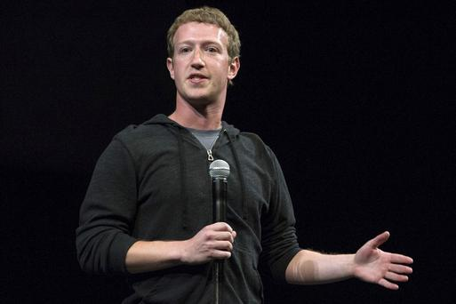 Comfortable: Facebook founder Mark Zuckerberg prefers to wear hoodies when conducting official business