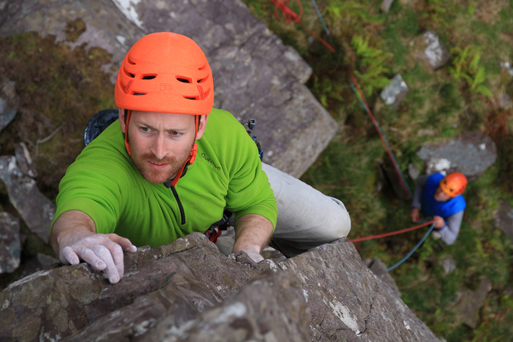 Green grass of home: David Flanagan, climber and author, went searching for Ireland's wildest area