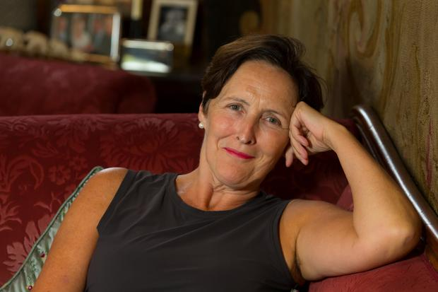 Actress Fiona Shaw pictured at Huntington Castle, Clonegal, Co. Carlow. Photo: Patrick Browne