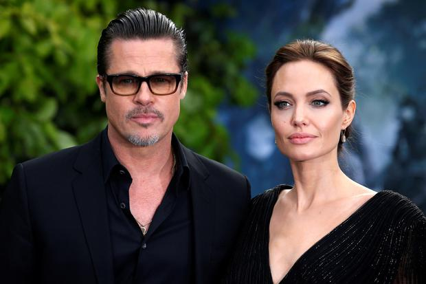 'Blindsided': Brad Pitt admitted his shock last week after his wife of two years, and partner for 12 years, Angelina Jolie, filed for divorce