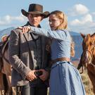 Gamble: James Marsden and Evan Rachel Wood star in HBO's latest TV series 'Westworld'