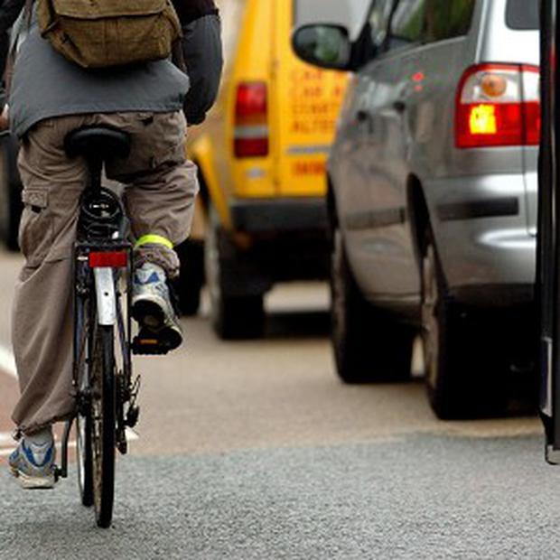 Road users can be very irresponsible, including cyclists