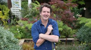Diarmuid Gavin - one of his favourite past-times is reading about gardens. Photo: Fran Veale