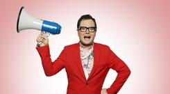 Chatty man: TV presenter Alan Carr has a second book out