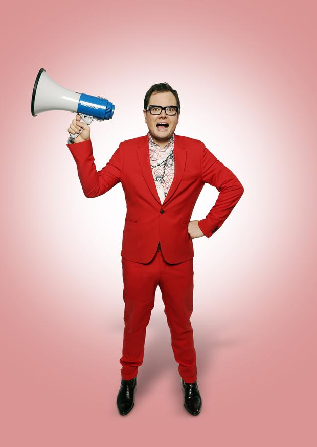 Alan Carr: 'Fame distorts you like a hall of mirrors