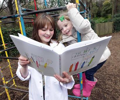 Just the tonic: Children's Books Ireland brings a Book Clinic to arts and literary festivals around the country. After finding out a little bit about the patient, the Book Doctors write prescriptions that children can exchange at their local library See childrensbooksireland.ie
