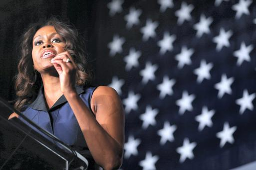 Michelle Obama who transformed the role of First Lady