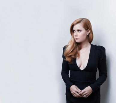 Chest right: Actress Amy Adams is still a fan of cleavage