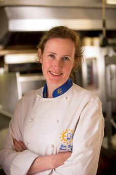 Child-friendly: Kate Lawlor, head chef at Fenn's Quay restaurant in Cork. Photo: Andy Jay
