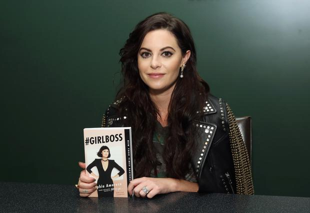 Self-made: Sophia Amoruso launches her first memoir '#GirlBoss', based on her rags-to-riches fame tale of how she set up NastyGal.com