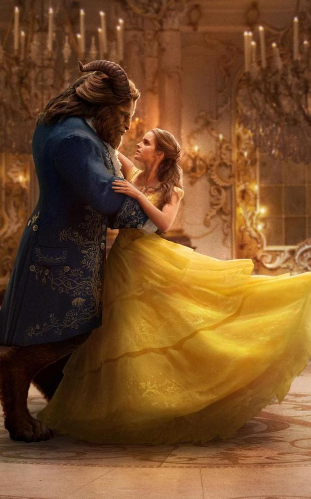 Reboot: Emma Watson as Belle and Dan Stevens as Beast in the remake of 'Beauty and the Beast'