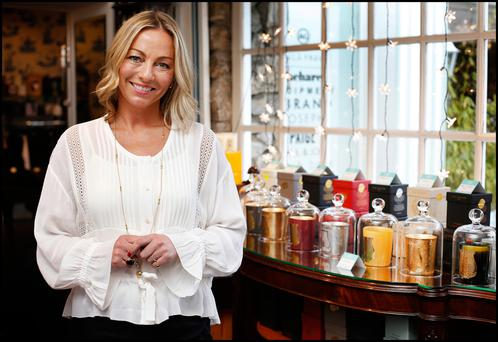 Seagreen owner Sarah Gill has been dressing the South Dublin fashionistas for a decade now. Photo: Steve Humphreys