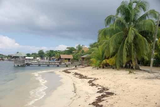 Paradise found: Central America has thousands of 'away from it all' beaches like this one in Honduras