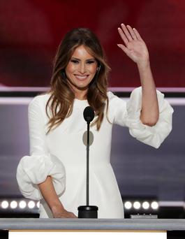 Homebird: Melania Trump will reportedly remain in New York until her 10-year-old son Barron finishes school before moving to Washington DC
