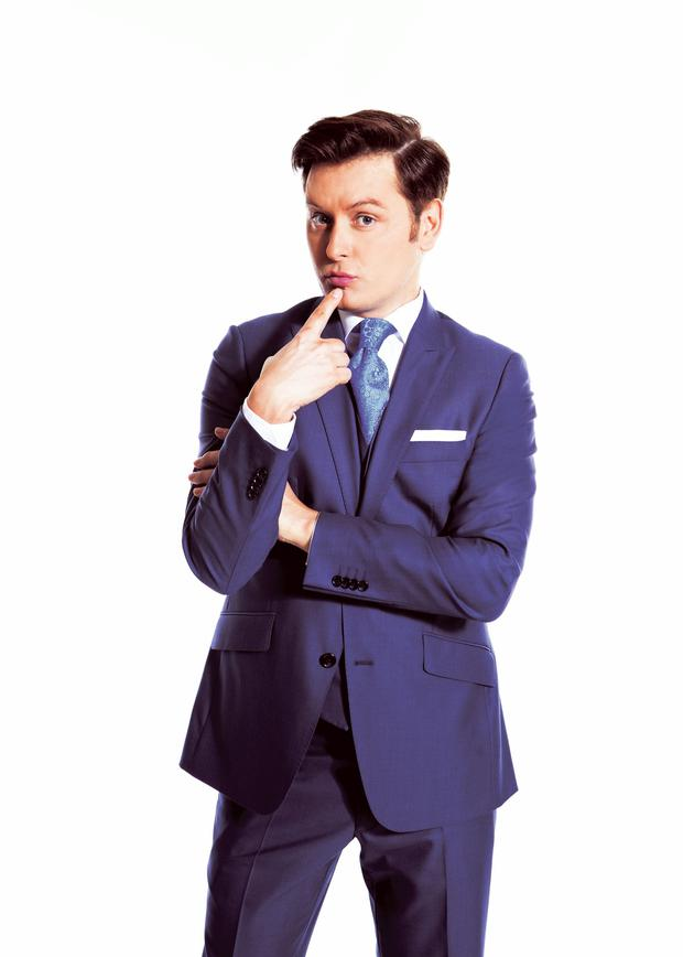 Brian Dowling as presenter of Sitting on a Fortune on TV3